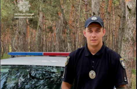 В Николаеве патрульный спас женщину-самоубийцу