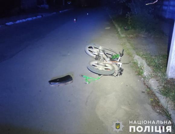 В Первомайске парень на мопеде сбил 6-летнего ребенка с велосипедом