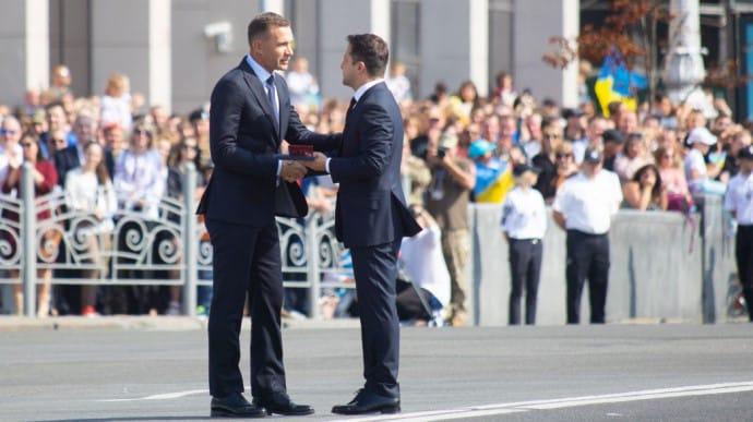 Президент вручил государственные награды по случаю Дня Независимости