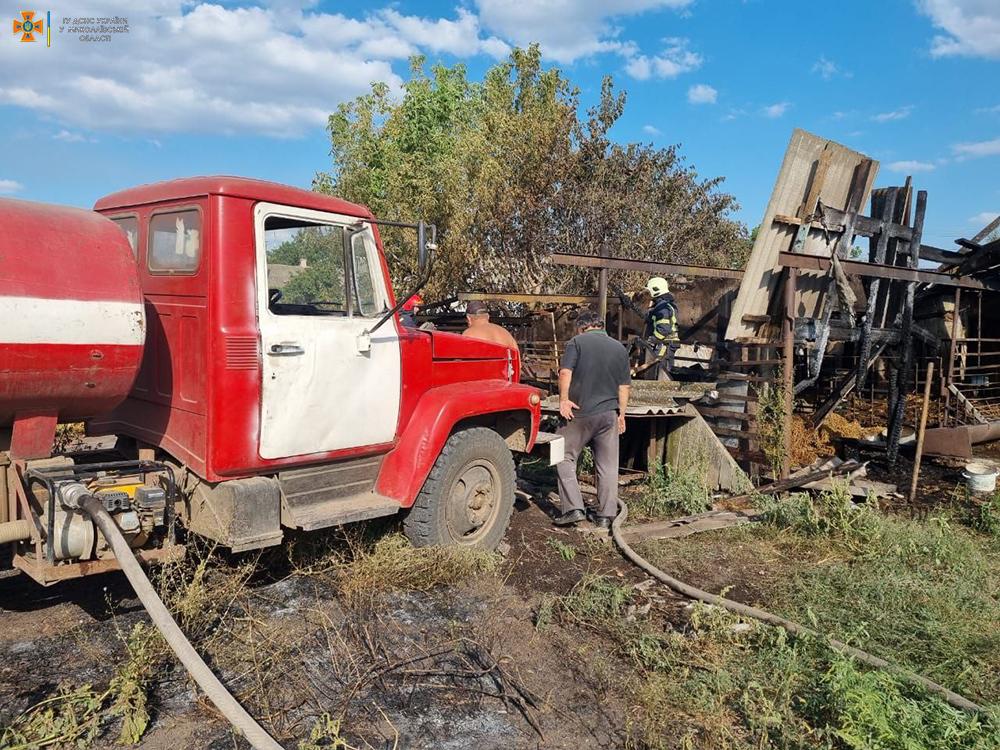 Спасатели Николаевщины четырежды за сутки тушили пожары в жилье (ФОТО) 9