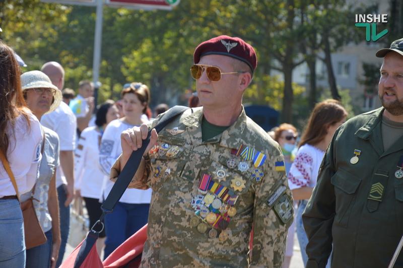 «Путин х**ло!»: в Николаеве прошел свой парад в честь Дня Независимости (ФОТО) 7