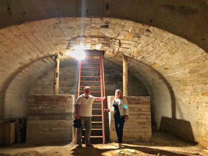 В Николаеве расчистят подземный тоннель под краеведческим музеем для проведения интересных массовых мероприятий (ФОТО)