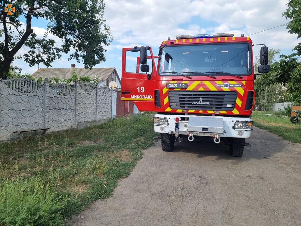 Спасатели Николаевщины четырежды за сутки тушили пожары в жилье (ФОТО) 1