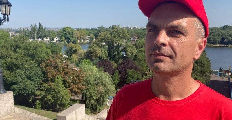 Житель Николаева установил рекорд Украины в беге по лестнице