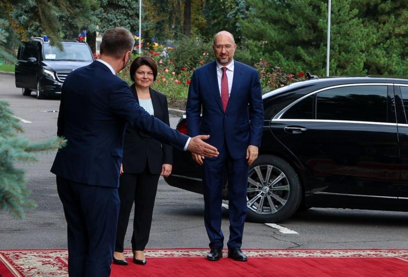 Ассоциированное трио – на уровне премьеров: что Шмыгаль предложил своей молдавской коллеге (ФОТО) 1