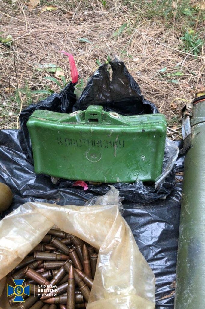 В Николаеве, Киевской и Луганской областях обнаружили тайники с гранатами и минами (ФОТО) 3
