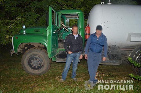 В Первомайске задержали воров газа из вагона-автоцистерны
