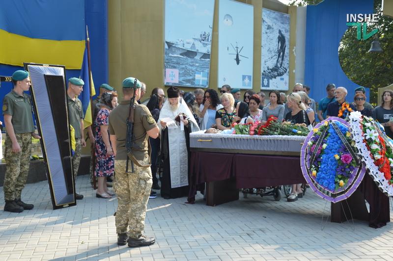 Николаев попрощался с погибшим на Донбассе 21-летним Юрием Михайловым (ФОТО, ВИДЕО) 13