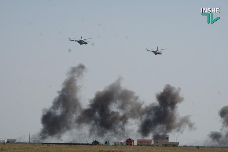 Военные учения на николаевском полигоне «Широкий лан»: аэродромы защитили от условного противника (ФОТО, ВИДЕО) 13