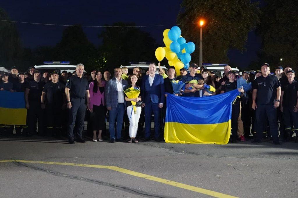 Украинские пожарные вернулись из Греции. Что спасли украинцы от огня на родине Олимпийских Игр? (ФОТО) 13