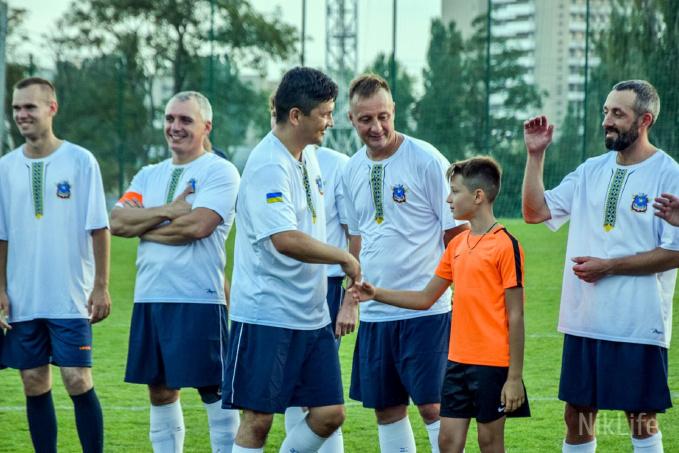 В Николаеве «звездный матч» с мэром и губернатором вызвал широкий общественный резонанс