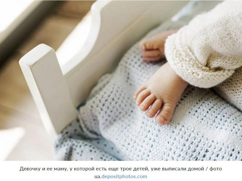Уникальный случай. В Израиле родилась девочка, беременная близнецами