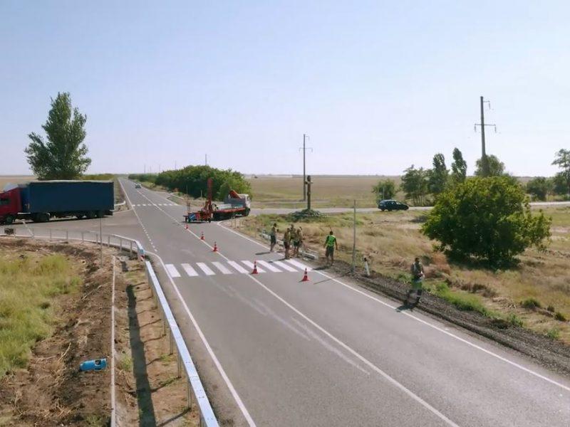 В Николаевской области отремонтировали дорогу на Очаков (ВИДЕО)