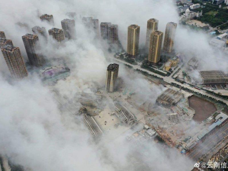 В Китае взорвали сразу 15 высотных домов. Почему? (ФОТО, ВИДЕО)