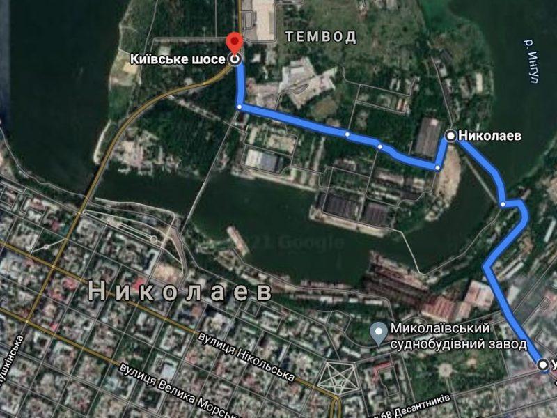 В Николаеве мост через завод будет открыт весь день, движение — по реверсному графику