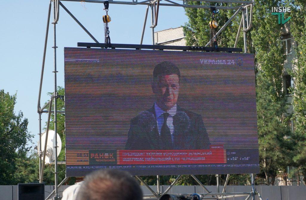 В Николаеве подняли самый большой Флаг Украины в Николаевской области (ФОТО и ВИДЕО) 21