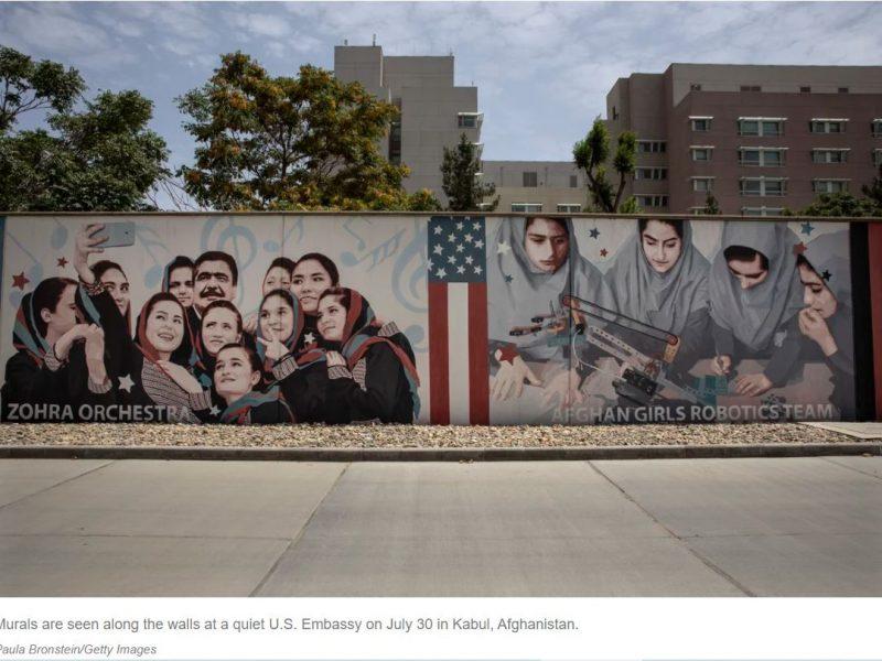 США сдают Афганистан талибам, сотрудникам посольства приказали уничтожить документы
