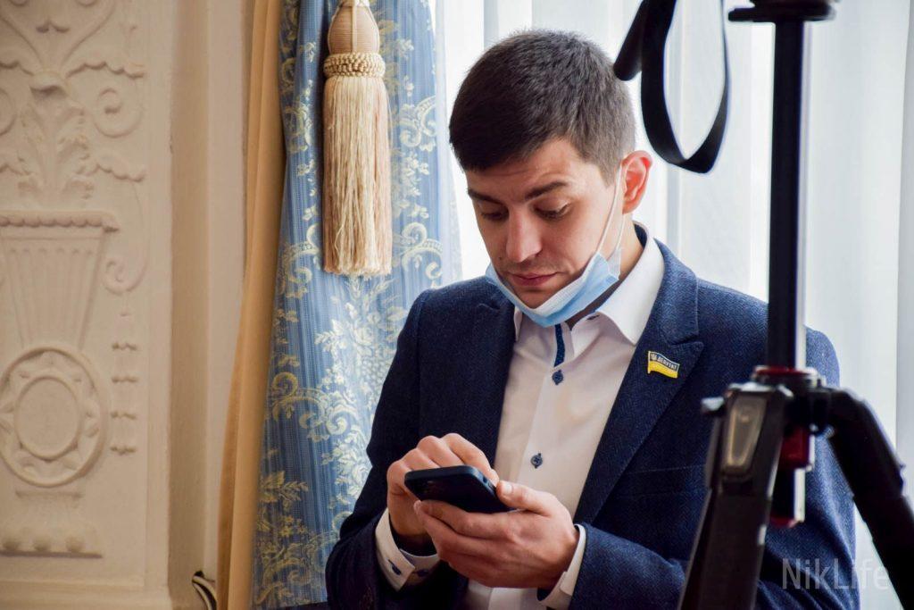 В Николаеве депутат горсовета от Слуги народа попал в ДТП (ФОТО) 1