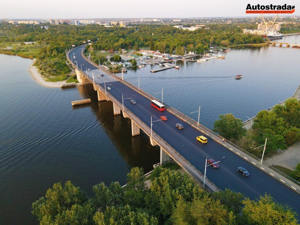 """На что пошли 320 миллионов: компания """"Автострада"""" показала обновленные дороги в Николаеве с высоты (ФОТО) 9"""