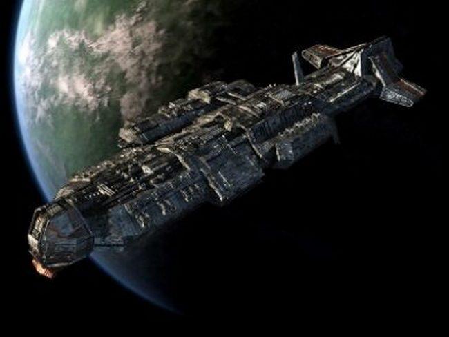 Китай планирует построить на орбите огромный космический крейсер