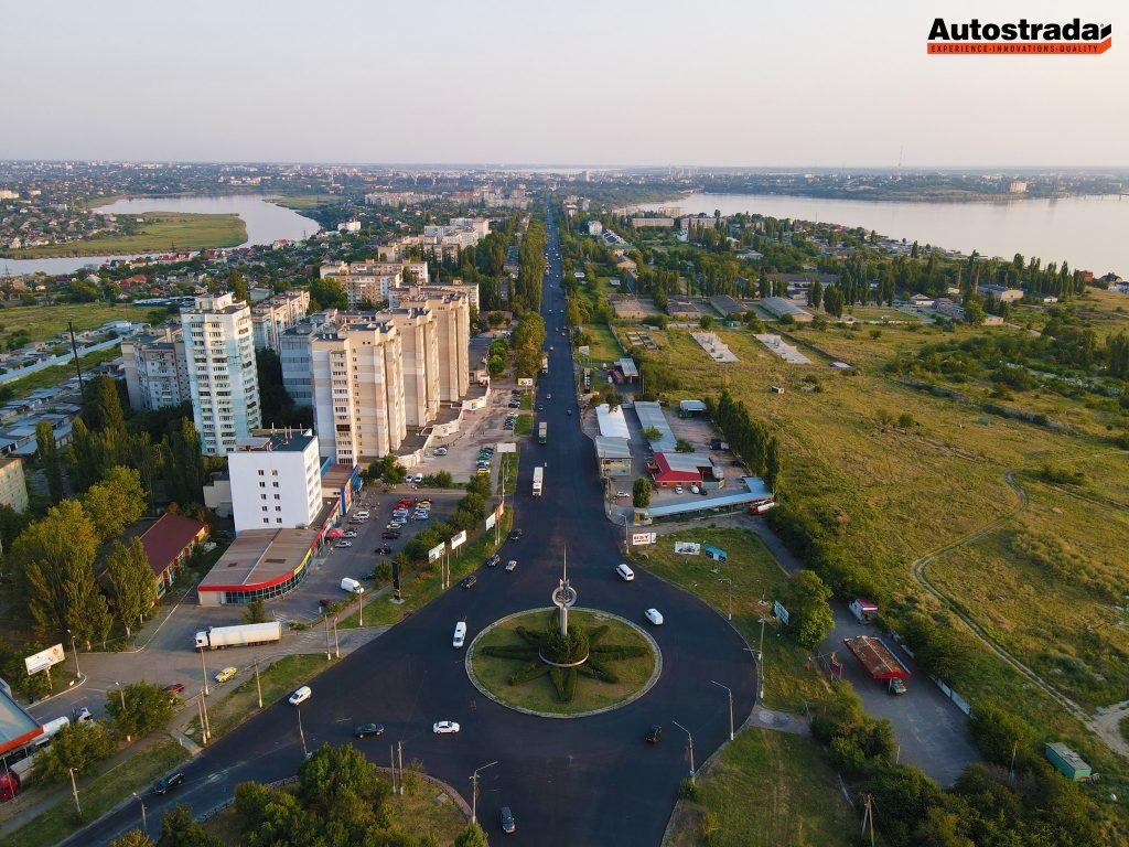 """На что пошли 320 миллионов: компания """"Автострада"""" показала обновленные дороги в Николаеве с высоты (ФОТО) 13"""
