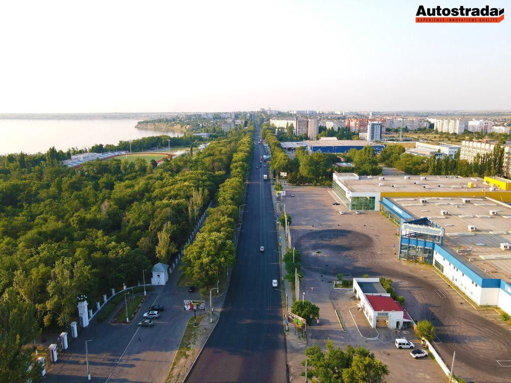 """На что пошли 320 миллионов: компания """"Автострада"""" показала обновленные дороги в Николаеве с высоты (ФОТО) 11"""