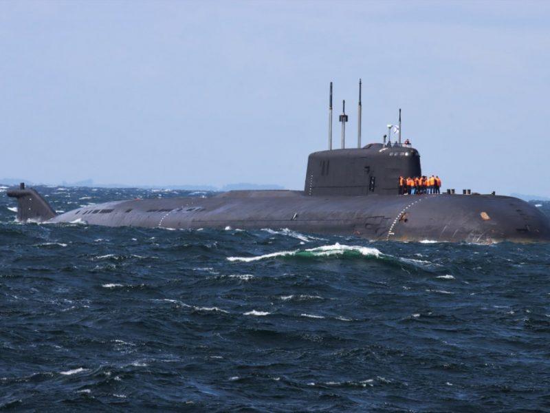 Российская атомная подлодка потеряла ход в датских водах