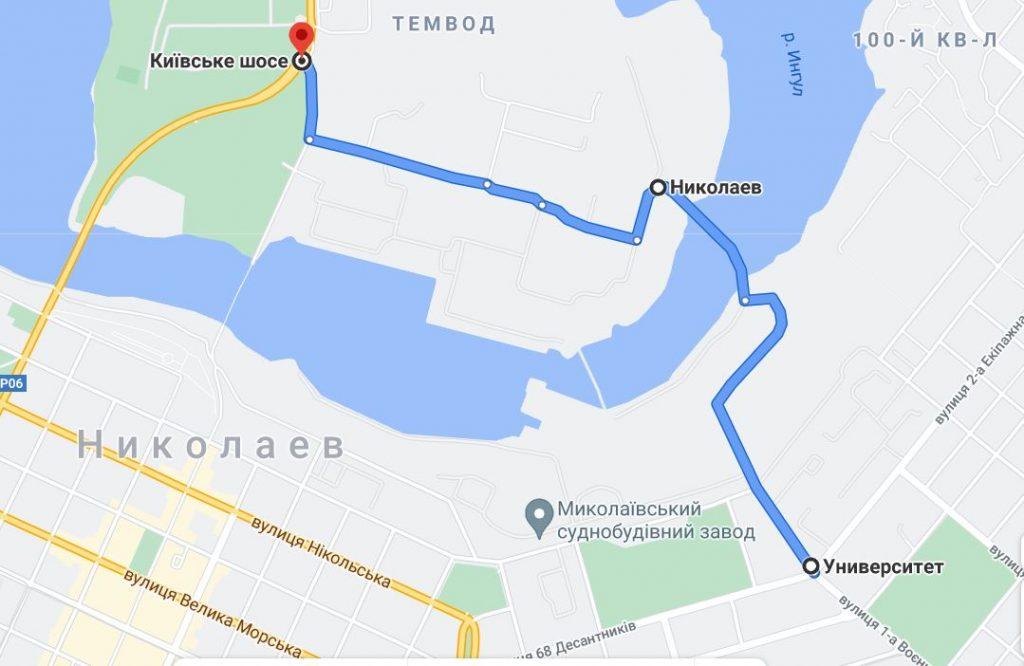 В Николаеве мост через завод будет открыт весь день, движение - по реверсному графику 1