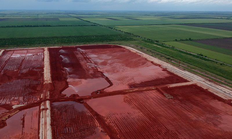 Минприроды остановило строительство накопителя красного шлама на НГЗ (ДОКУМЕНТ)