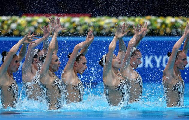 Украинки завоевали бронзу Олимпиады в синхронном плавании