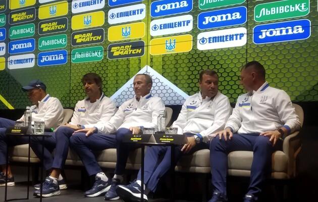 Представлен весь тренерский штаб Петракова в сборной Украины по футболу (ВИДЕО)