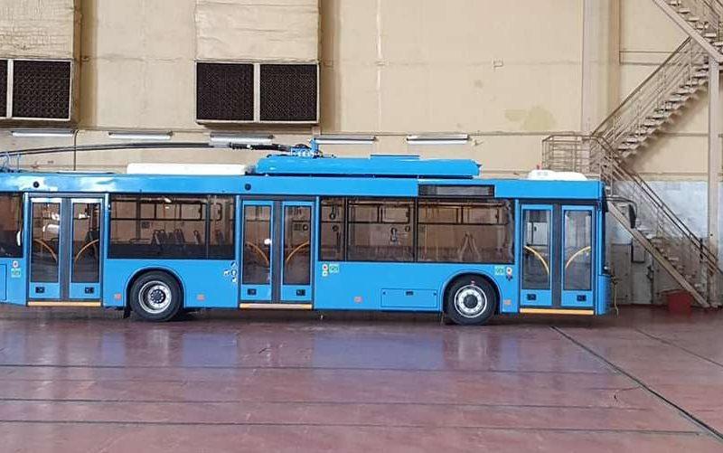Первые десять троллейбусов для Николаева ушли на испытания (ВИДЕО)