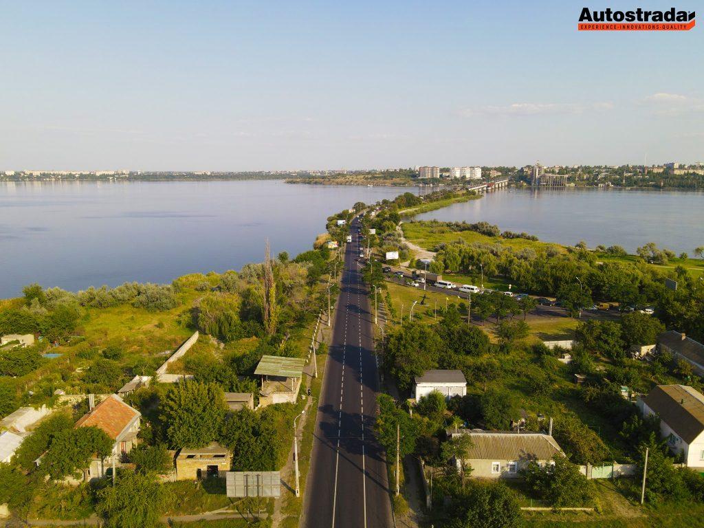 """На что пошли 320 миллионов: компания """"Автострада"""" показала обновленные дороги в Николаеве с высоты (ФОТО) 15"""