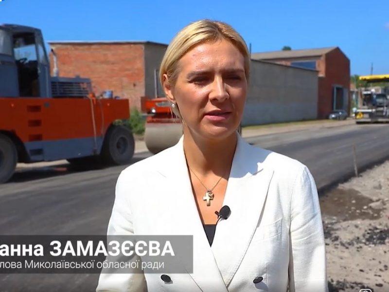 Ганна Замазєєва: Багаторічне питання ремонту дороги до села Горохівка нам вдалося вирішити за 2 місяці (ВІДЕО)