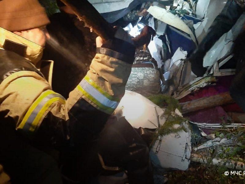 Крушение пассажирского самолета в России: четверо погибли, еще четверо — в тяжелом состоянии