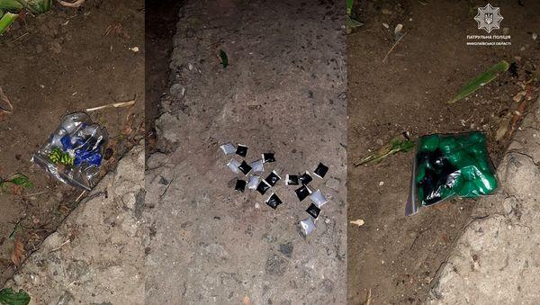 В Николаеве патрульные задержали троих «закладчиков» (ФОТО) 1