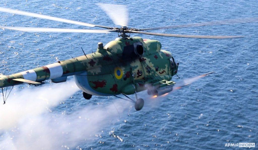 Николаевские морские авиаторы нанесли огневой удар в акватории Черного моря (ФОТО, ВИДЕО) 1
