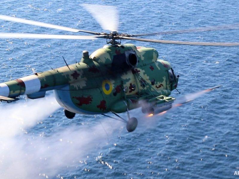 Николаевские морские авиаторы нанесли огневой удар в акватории Черного моря (ФОТО, ВИДЕО)
