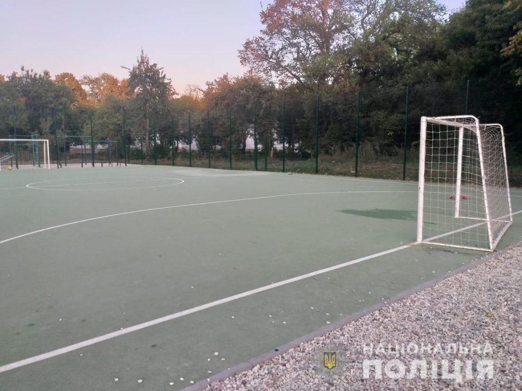 Ребенка придавило футбольными воротами в Харькове. Малыш в реанимации 1