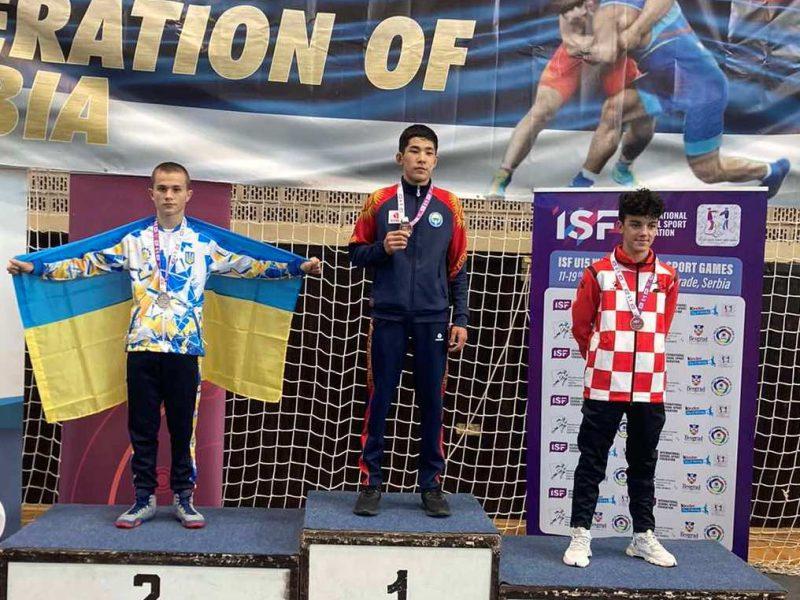 Юный борец из Южноукраинска стал призером первых Всемирных ученических спортивных игр (ФОТО)