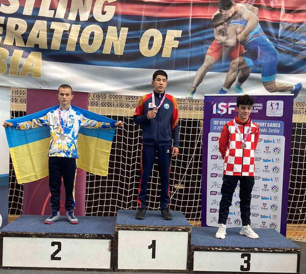 Юный борец из Южноукраинска стал призером первых Всемирных ученических спортивных игр (ФОТО) 21