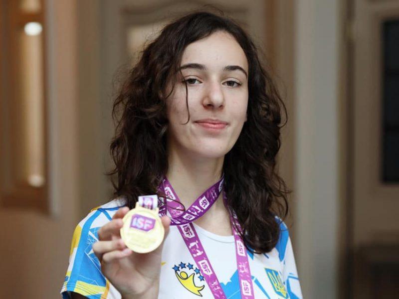 Шахматистка из Николаева стала первой на Всемирных ученических спортивных играх (ФОТО)