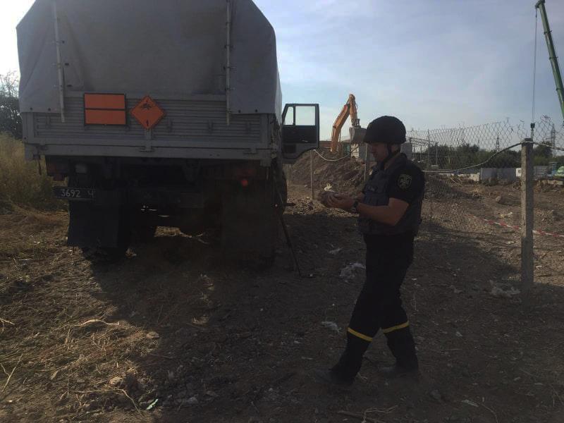 В Николаеве нашли мину, а в реке у Ковалевки - артснаряд (ФОТО) 1
