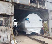 В модернизируемую котельную на Новозаводской приехал последний котел — «Николаевоблтеплоэнерго» (ФОТО)