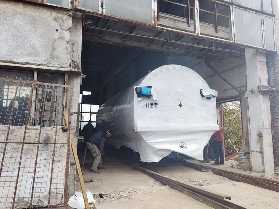 В модернизируемую котельную на Новозаводской приехал последний котел - «Николаевоблтеплоэнерго» (ФОТО) 13