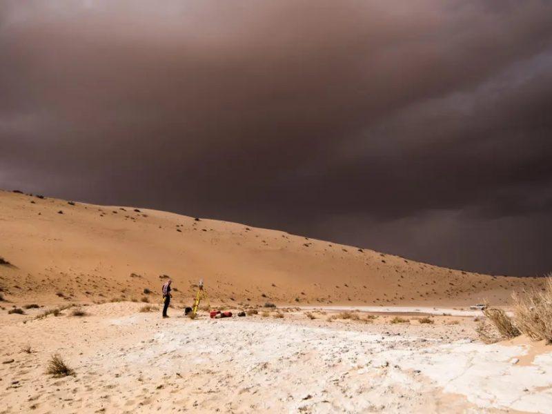 В доисторические времена изменения климата несколько раз приводили первых людей в Аравию — археологи