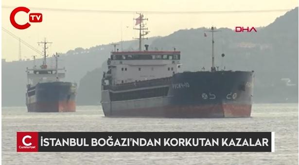 В Босфорском проливе произошло два столкновения российских и турецких судов 3