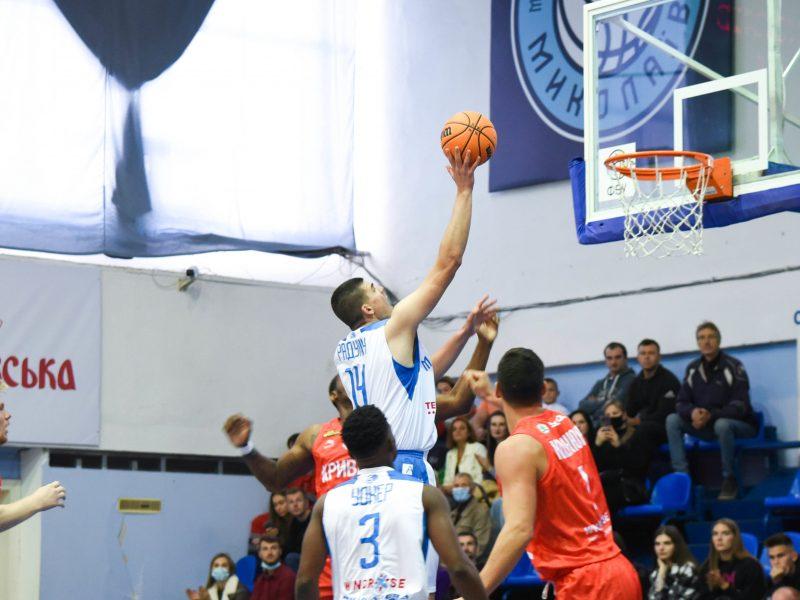 МБК «Николаев» уверенно победил «Кривбасс» в дебютном матче Суперлиги Windrose (ВИДЕО)