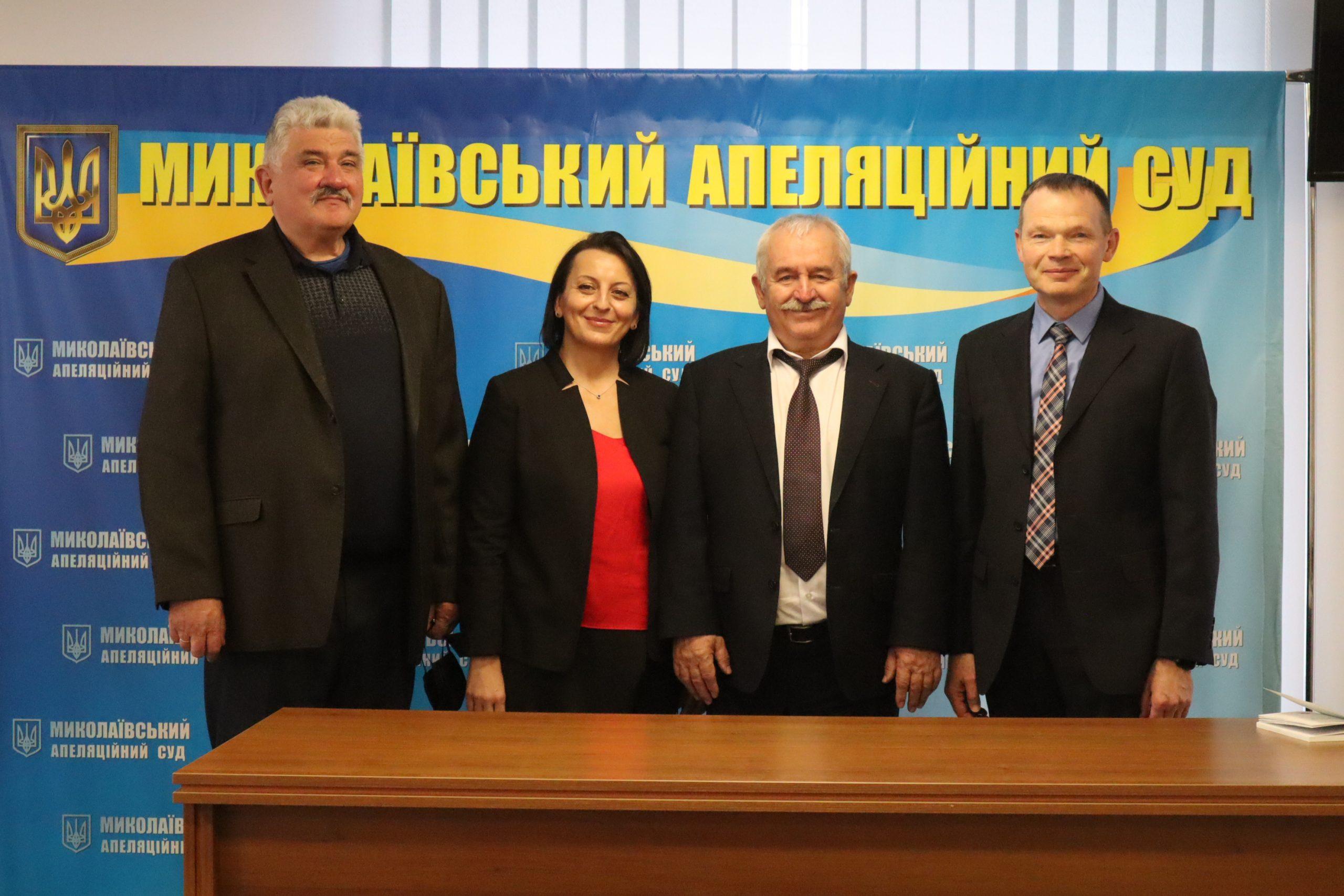 В Николаевском апелляционном суде выбирали главу и его заместителей. Все остались на местах, кроме одного 1