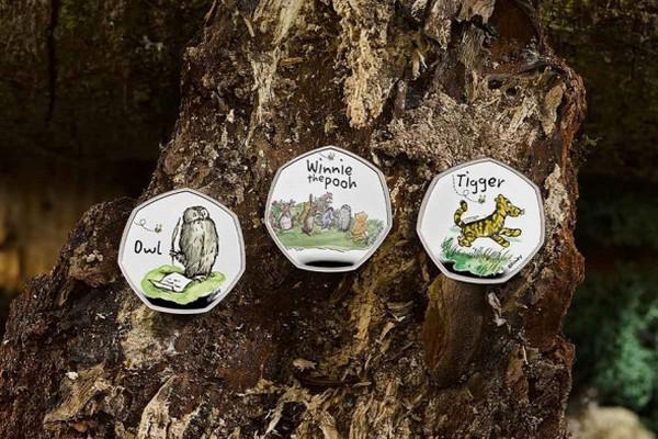 В Британии выпустили серию монет, приуроченную к 95-летию Винни-Пуха и его друзей (ФОТО) 3